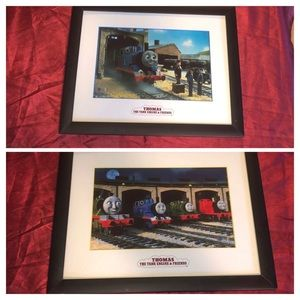 2 11x14 Thomas & Friends pictures